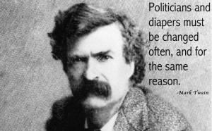 MarkTwain-Politicians