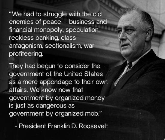 FranklinDRoosevelt-GovernmentDangerous